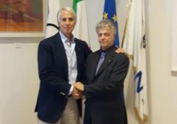 Malagò incontra il nuovo Presidente della Federazione Bowling Stefano Rossi