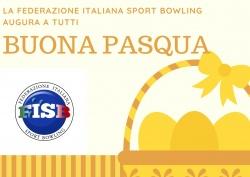 La Federazione Italiana Sport Bowling augura una Buona Pasqua