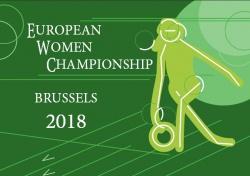 European Woman Championships - Brussels (Belgio) dal 6 al 17 giugno 2018