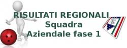 REGIONALE SQUADRA AZIENDALE Fase 1